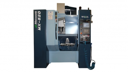 Matsuura_MX520_5-Axis_Machining