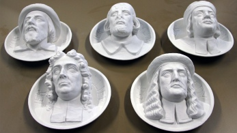 3d printed scanned busts